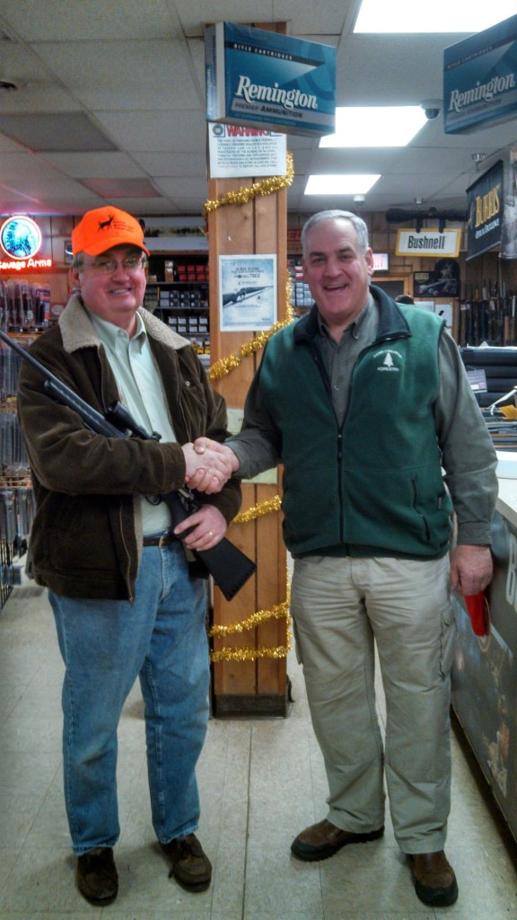 2013 hunting season raffle winner